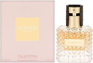 VALENTINO DONNA 50 ml - Eau de parfum (Mujeres Bergamota Bergamota Lirio Rosa IrisRose Cuero Patchouli Vainilla)