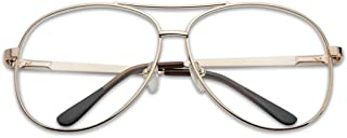 60757d20f6c8 SunglassUP Oversized Aviator Rx Cheater Reading Glasses Assorted Power  Strength +1.00 thru +3.50