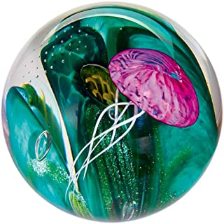 Glass Eye Studio Phantom of the Sea Blown Glass Paperweight