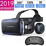 Best Virtual Reality Headsets - VR Headset with Remote Controller,HD 3D VR Glasses Review