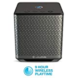 JLab Audio Block Party Series Wireless Multi-Room Bluetooth Speaker | Connect 8 Speakers | Wireless Connectivity | Phone Control | 50 Watts | Black