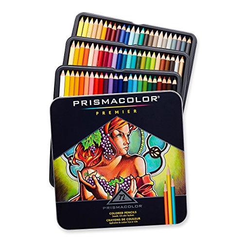 Prismacolor Premier Lot de 72 crayons de couleur à noyau souple (rénové)
