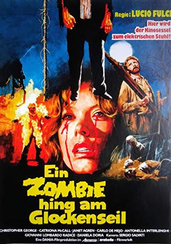 EIN Zombie Hing am Glockenseil (1980) | Poster [42 x 59,4 cm, Din A2]