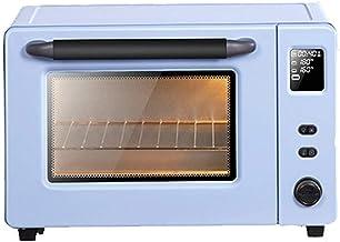 GCX Horno Hogar Hornear automática multifuncional 40L de gran capacidad de la torta de pan mini pequeño horno eléctrico Moda (Color : Blue)