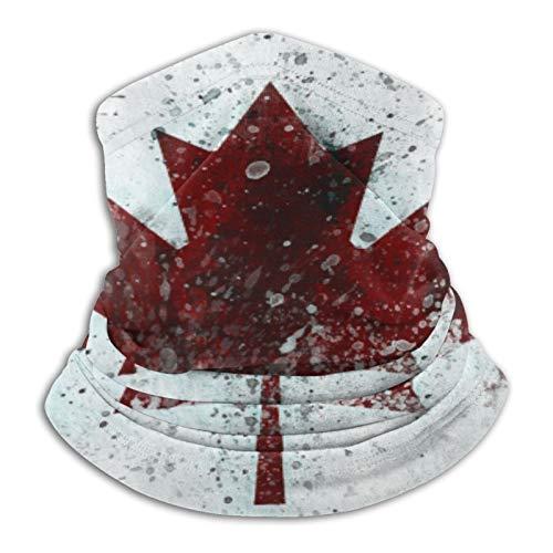 Custom made Bandejas de arce canadiense, unisex, multifuncionales, a prueba de polvo, de microfibra, pasamontañas, bufanda, calentador de cuello, para deportes al aire libre y clima frío