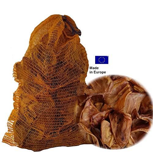 Lyra Pet®200 Schweineohren ca. 9 kg getrocknet Hundefutter Snack Europa Hund