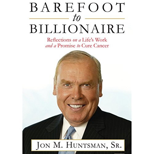 Barefoot to Billionaire audiobook cover art