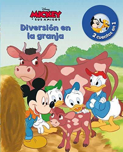 Mickey. Diversión en la granja y Un nuevo amigo: Dos cuentos en uno (Disney. Mickey)