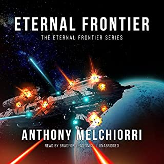 Eternal Frontier audiobook cover art