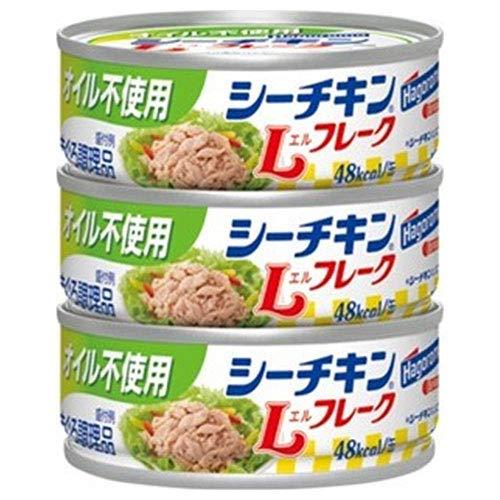 はごろもフーズ オイル不使用 シーチキン Lフレーク (70g×3缶)×24個入×(2ケース)