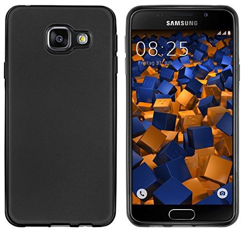 mumbi Hülle kompatibel mit Samsung Galaxy A3 2016 Handy Case Handyhülle, schwarz