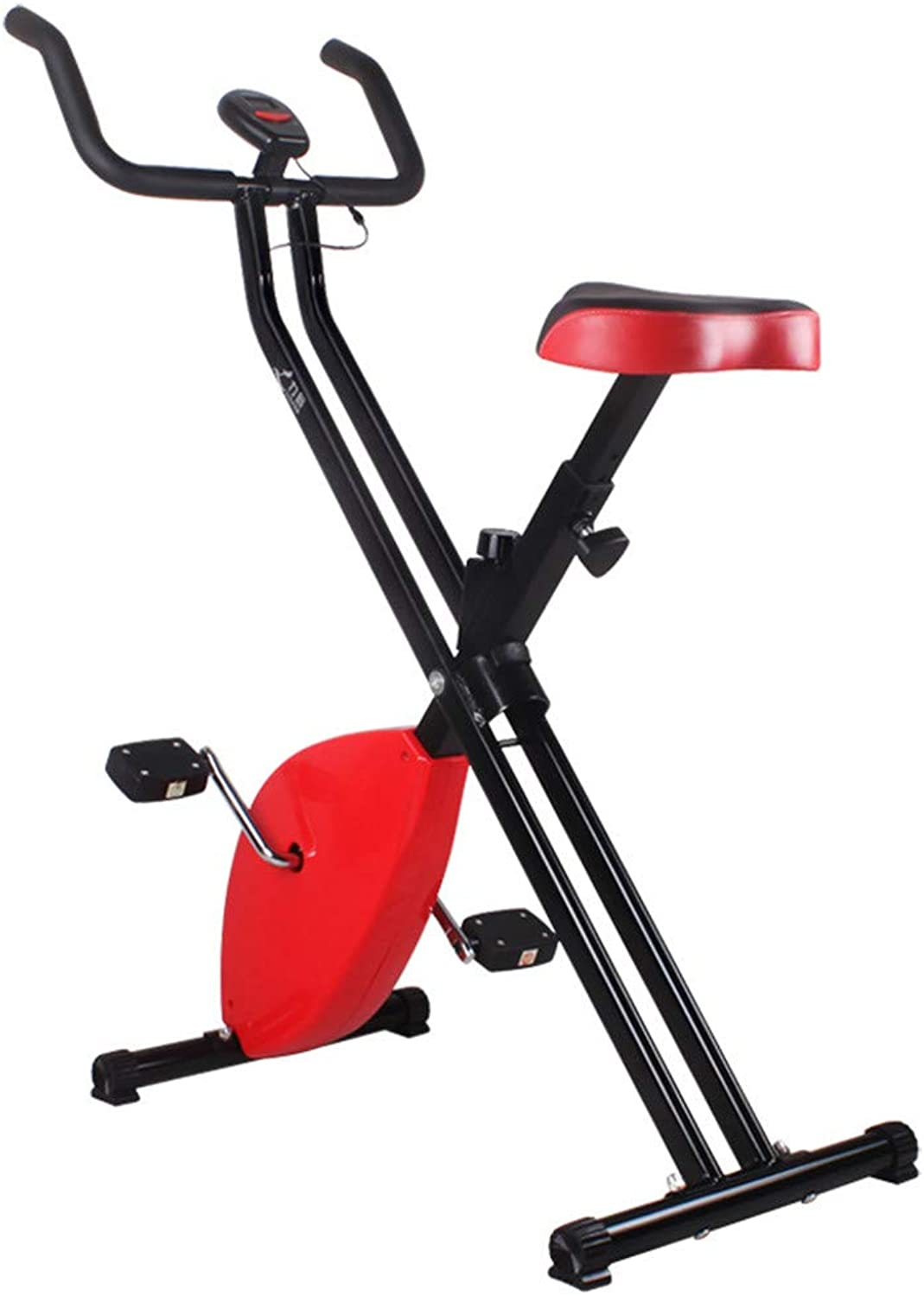 Spinning Bike Trainer Exercise Bicycle Indoor Cycling Bike Cycle Heart Rate Fitness Stationary Exercise Bike with LCD Display for Home Sport Workout