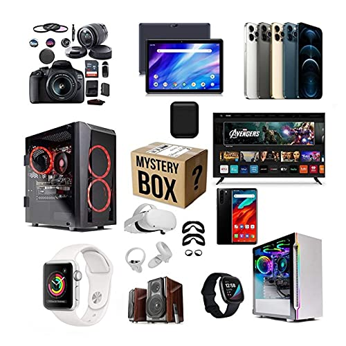 buttonworx Mystery Box, Random Mystery Box Electronics, Surprise Box...
