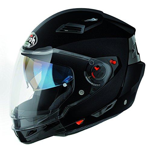 Airoh Motorrad Helm Vorstands, Schwarz, 60 cm