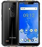 ULEFONE ARMOR 5 - 5.85 pollici HD + (19: 9 schermo Notch) IP68 smartphone dual sim , impermeabile / antipolvere / antiurto, 2.0 GHz Octa Core 4 GB + 64 GB, batteria 5000mAh carica wireless supportata, Dual 4G LTE / NFC / Dual SIM / Android 8.1 / GPS + Glonass - Nero