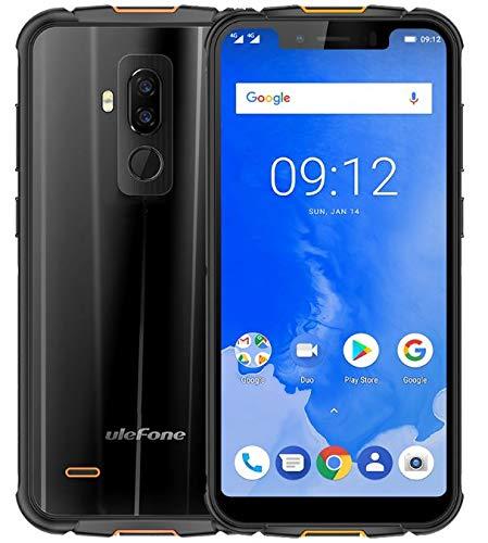 ULEFONE ARMOR 5 - 5.85 inch HD + (Écran 19: 9 Notch) Smartphone IP68 dual sim, sans fil, étanche et protégé contre les chocs, 2.0 Octa Core 4 GB + 64 GB, 5000mAh pris en charge, Dual 4 LTE / NFC / Android 8.1 / GPS + Glonass - Noir