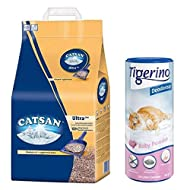 Catsan Ultra Clumping Cat Litter 30L Extremely Absorbent And Economical For Clean And Dry Tray With ...