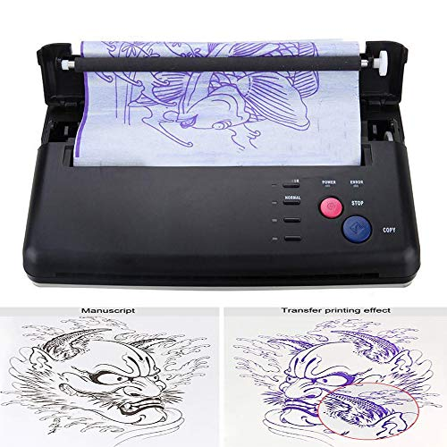 Pro Black Tattoo Transfer Copier Printer Machine Thermal Stencil...