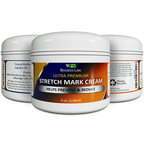 Effective Stretch Mark Scar Fading Cream - Reduces Pregnancy Stretch Marks and Fades Scars Fine Lines and Wrinkles