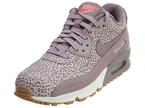 Nike Damen WMNS Air Max 90 Prem Fitnessschuhe, Grau PLM Fg Prpl SMK Blchd LLC Phnt, 39 EU