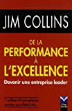 De la Performance à l'excellence - Devenir une entreprise leader - PEARSON (France) - 14/02/2006