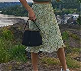 chushi Vestidos de Mujer Mujeres Midi Faldas Midi Boho Paquete Elegante Casual Hip Bottles Damas Alta Cintura Floral Falda Falda Ropa De Vacaciones Vestido de Novia Zzib (Color : Green, Size : S)