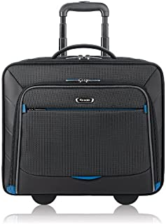 28b732140b0e Solo Active 16 Inch Rolling Overnighter Case with Padded Laptop  Compartment
