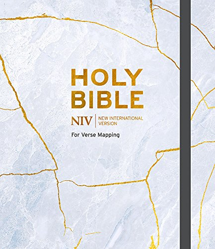 NIV Bible for Journalling and Verse-Mapping: Kintsug