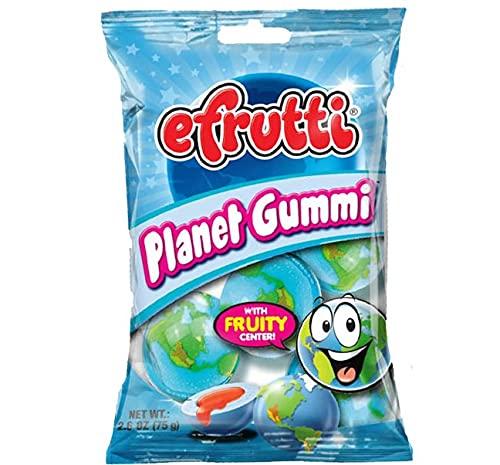 Efrutti Planet Gummi - Gummy Ranking TOP3 Candy PK OZ Flavor High material 1 Fruity 2.6