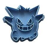 Cuticuter Gengar Pokémon - Taglierina per biscotti, colore: blu, 8 x 7 x 1,5 cm