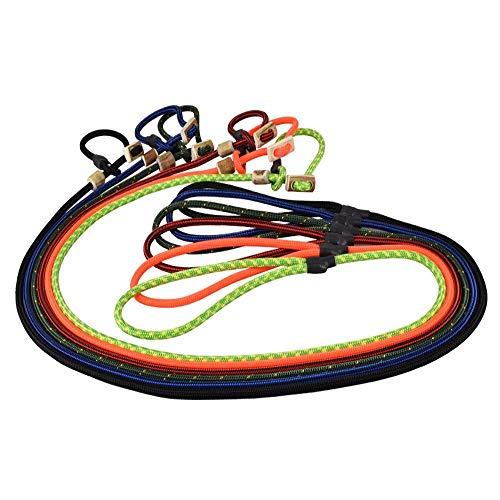Romneys Hundeleine mit Halsband 6mm | Moxonleine Retrieverleine Agilityleine | Mit Zugbegrenzung, Zugstopp aus Hirschhorn (Oliv/Grün, 100 cm)