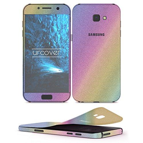 Urcover® glitterfolie om op te plakken compatibel met Samsung Galaxy A5 2017   Folie in   Accessoires Glitter Case Handyskin Diamond Glitter Screen Protector Bling Glamoureus