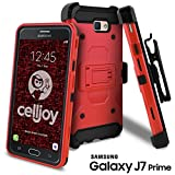 Galaxy J7 Prime Case, Galaxy On7 Case, Celljoy [Carbon