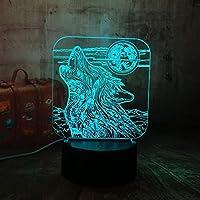 テコンドー3DナイトライトカラフルタッチLEDビジュアルライトタッチ3Dスモールテーブルランプ