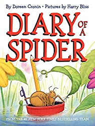 Totally funny! The kids loved the adventures of the spider as he tells his story of day to day life. We loved the page where the spiders learn to get airborne and they make flashcards to help practice! And the page where two spiders try to see-saw made the kids giggle! Check this blog post for a STEM challenge!