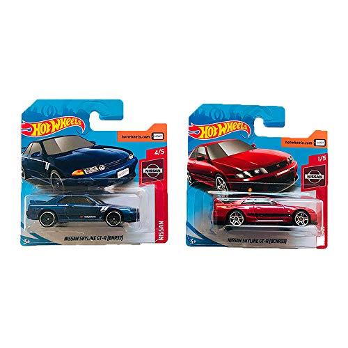 Hot Wheels Nissan Skyline GT-R Nissan Pack 2