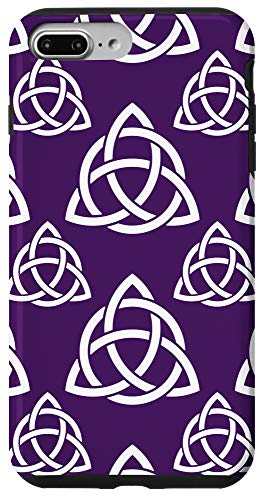 iPhone 7 Plus/8 Plus Purple Triquetra Trinity Symbol Celtic Knot Cheeky Witch Case