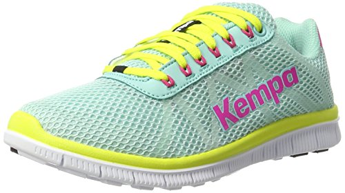 Kempa Damen K-Float Sneakers, Türkis (10), 41 EU