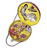 SOY LUNA Beauty-Set im stylischen Make-Up-Koffer, 1er Pack (Schminke für Lippen und Augen, Nagellack, Sticker, Schmuck)