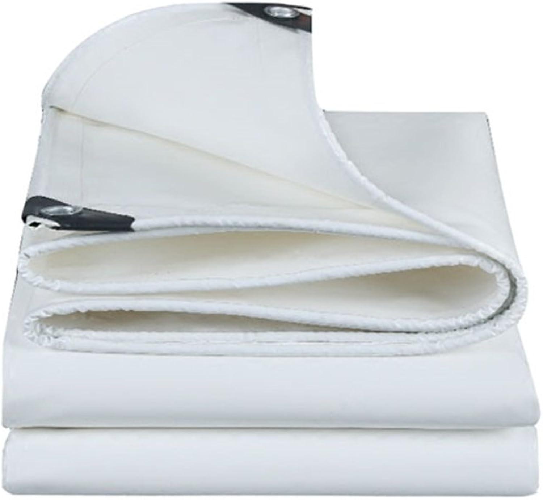 CAOYU Regenschutzplane-LKW-Plane des Planes im Freien staubdichtes windundurchlässiges windundurchlässiges windundurchlässiges Isolationssegeltuch des Segeltuches, weiß B07H9W45XG  ein guter Ruf in der Welt 727b83