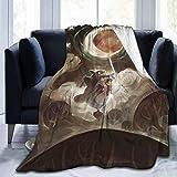 Gypsophila My Neighbor Totoro Decke, superweich, warm, flauschig, pflegeleicht, für alle Jahreszeiten, mehrfarbig, Größe: 203,2 x 152,4 cm