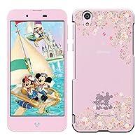 [Breeze-正規品] iPhone ・ スマホケース ポリカーボネイト [透明-Pink] ィズニーモバイル DM-01Jケース Disney Mobile on docomo DM-01J カバー ハードケース[DM-01J]