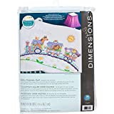 Dimensions Stamped Cross Stitch 'Baby Express' DIY Baby Quilt, 34' x 43'