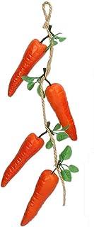 Remeehi 食品模型 野菜 本物そっくり サンプル 飾り 吊り上げ ディスプレイ インテリア 食品サンプル ホテル 庭 ニンジン