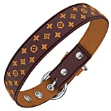 Designer Dog Collar for XSmall, Small, Medium and Large Breeds, in...