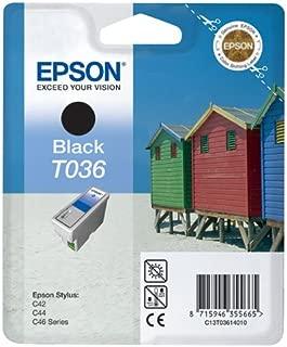 epson t036 black ink cartridge