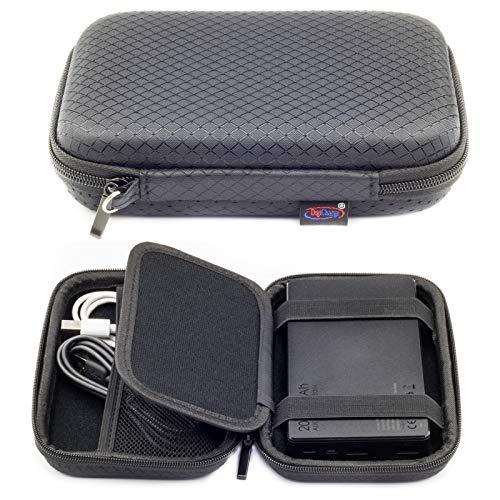 Digicharge® Harde Beschermhoes Koffer voor Anker PowerCore AUKEY 20000mAh EasyAcc 20000mAh EC-technologie ELEFULL RAVPower Power Bank Draagbare Externe Batterijladers tot 16.5x10x2.5cm Hoes Tas