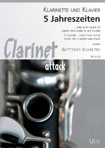 5 seizoenen: voor klarinette en piano