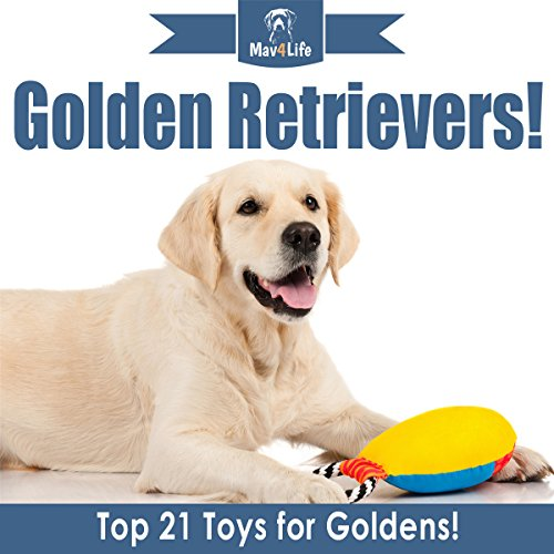 Golden Retrievers! audiobook cover art
