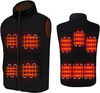 FERNIDA Men's Heated Vest Electric Body Warmer Unisex Heating Vest Jacket Sport Outdoor Clothes(Battery Included)